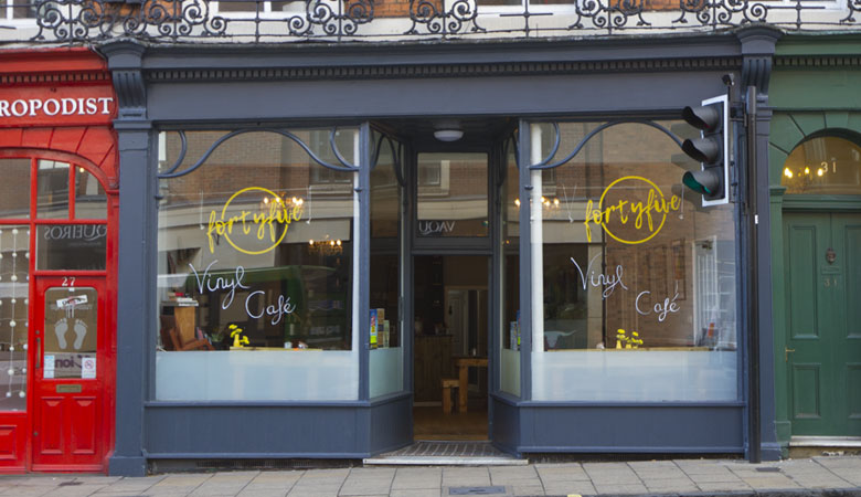 FortyFive Vinyl Café