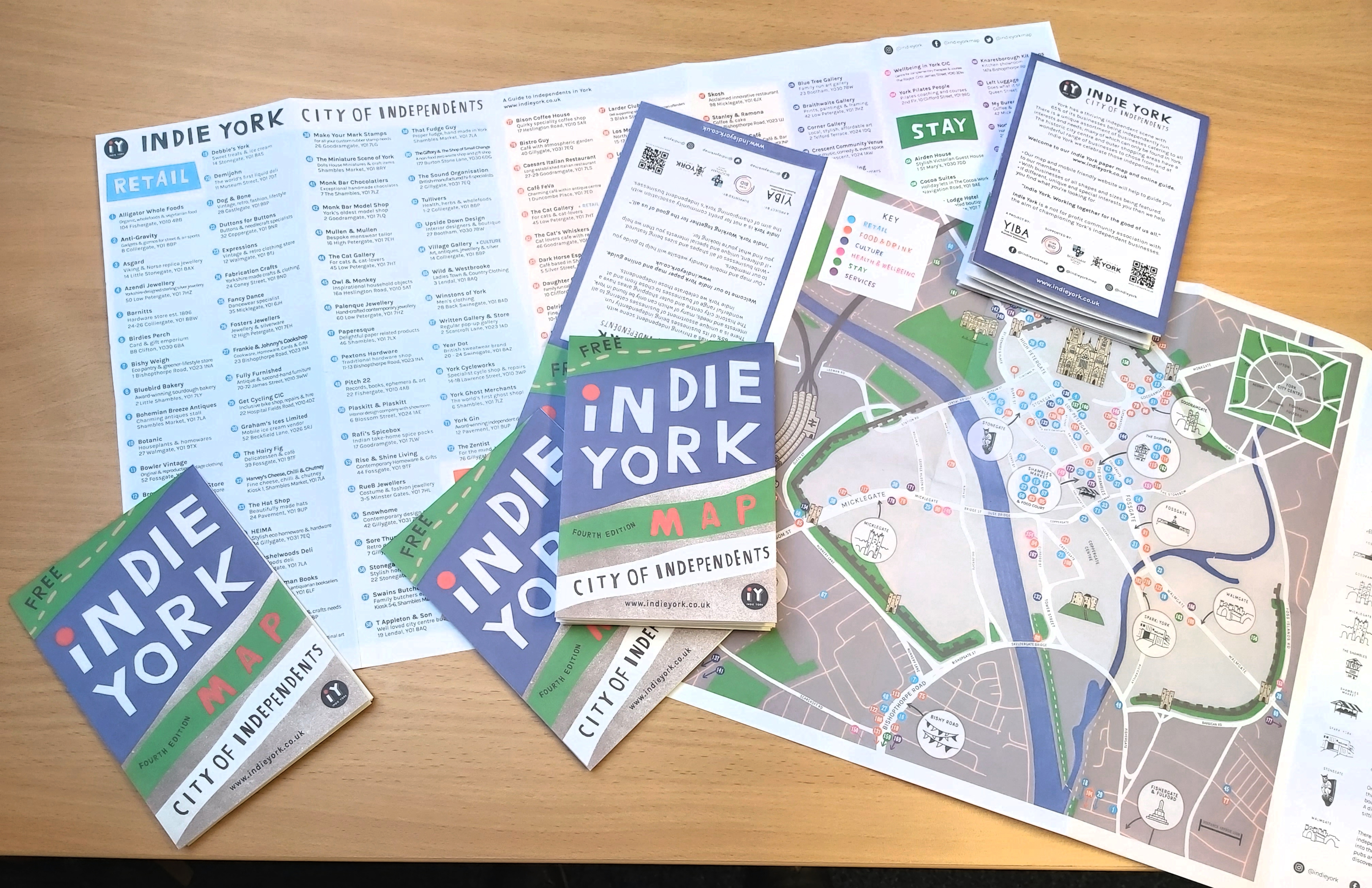 New fourth edition of the Indie York map is out!